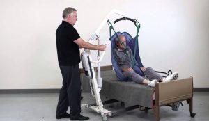 Patient handling instructor